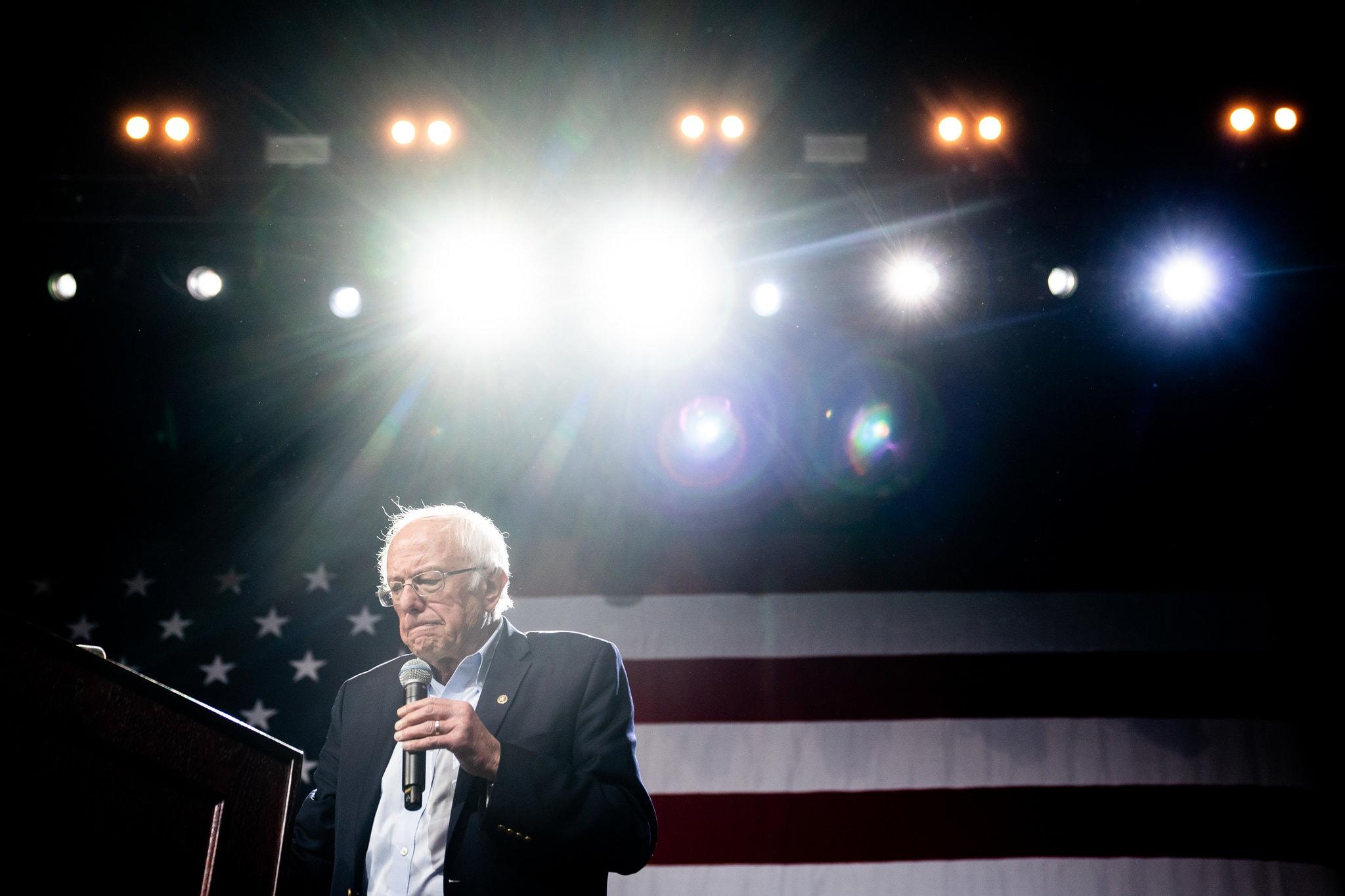 桑德斯退出美国总统大选?为副总统拜登获得民主党提名扫清了道路