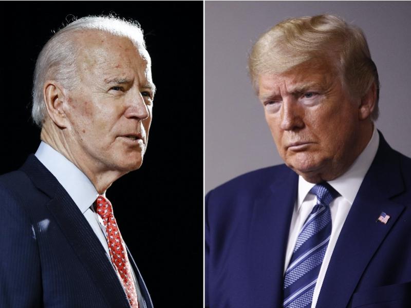 """美国总统选战定局!拜登与特朗普各有""""命门"""",鹿死谁手?"""