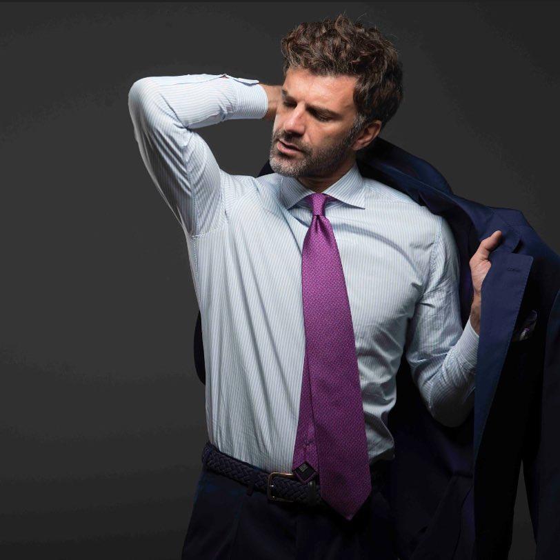 意式衬衫的精致感是缝出