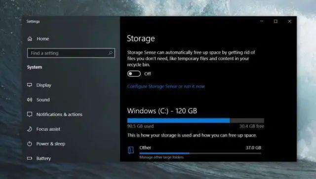 缓解硬盘危机,Windows 10推出存储设置新功能