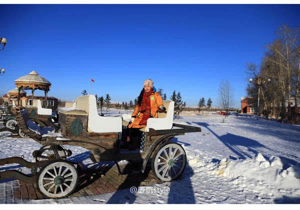 原创             国门眺望俄罗斯小镇,坐国际列车去俄罗斯旅行