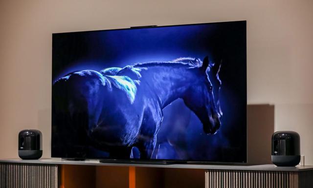 华为智慧屏X65构建大屏美学新秩序,一体超薄艳压索尼三星
