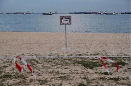 新加坡关闭所有海滩 违反防疫措施首次罚款300新元