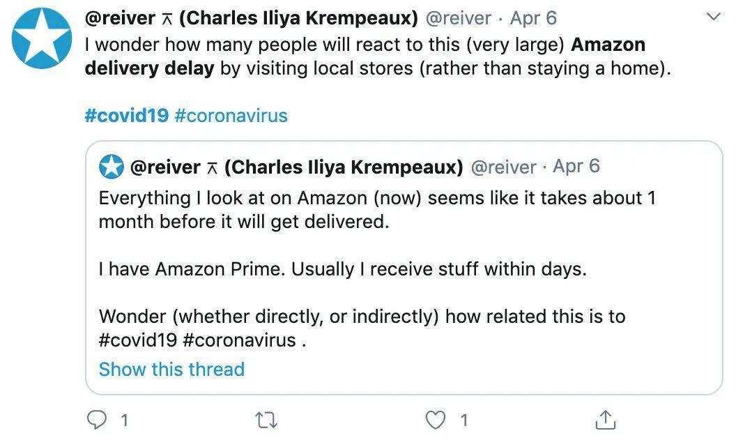 亚马逊工人罢工快递延误,谷歌无人机送货却业绩翻倍