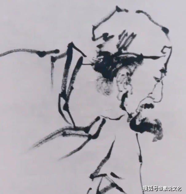 国画牛人挑战范曾大师 一幅童子下棋图,笔墨线条老练有魅力