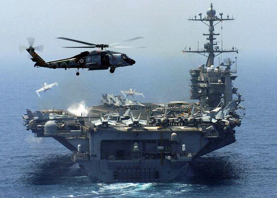 不顾军令返回本土,又一艘美军航母开足马力,向五角大楼发出信号