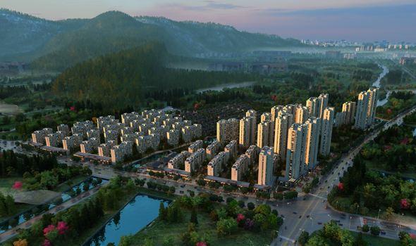 长兴南太湖新区规划图
