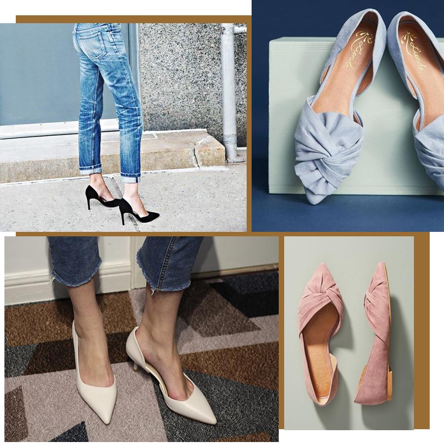 早春单鞋怎么选?差别脚型这样选~