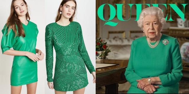 「祖母绿」全球风靡女王祖母绿,2020年的年度代表色,英国女王一展带货能力