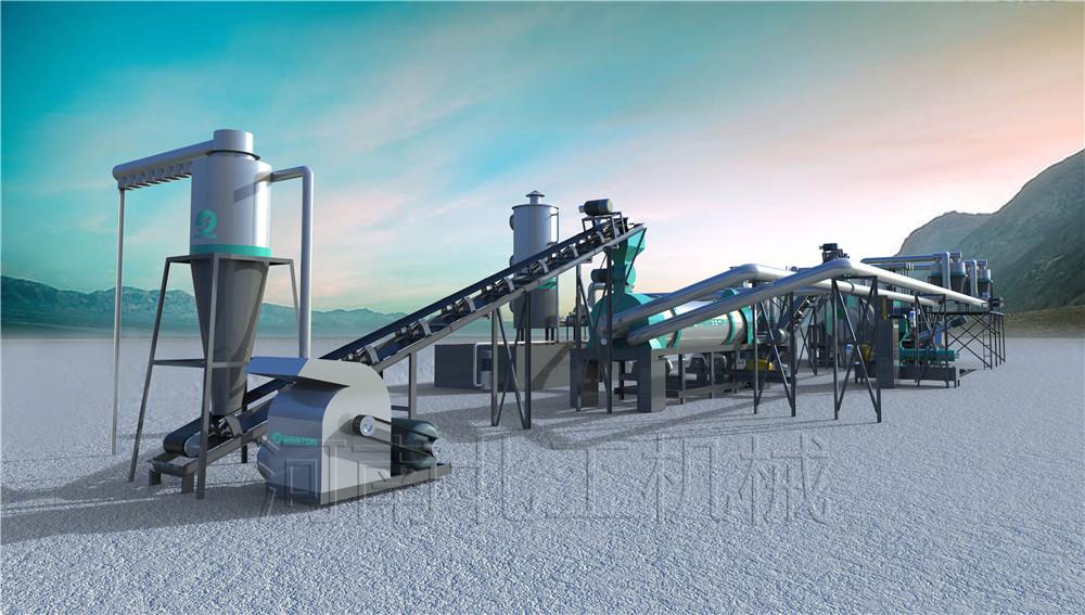 污水处理厂污泥处置方式 污泥干化炭化技术介绍