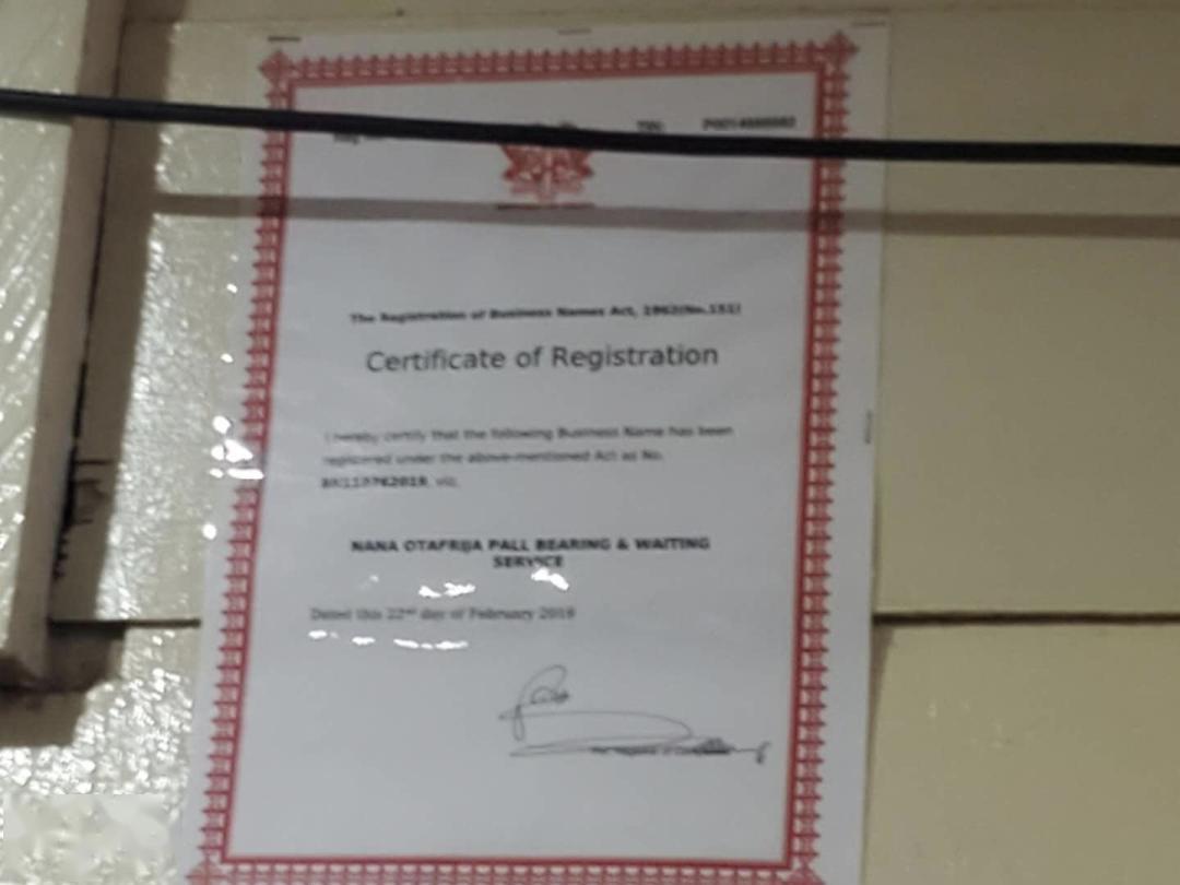 本杰明的公司注册名,在加纳,注册公司并不用花钱