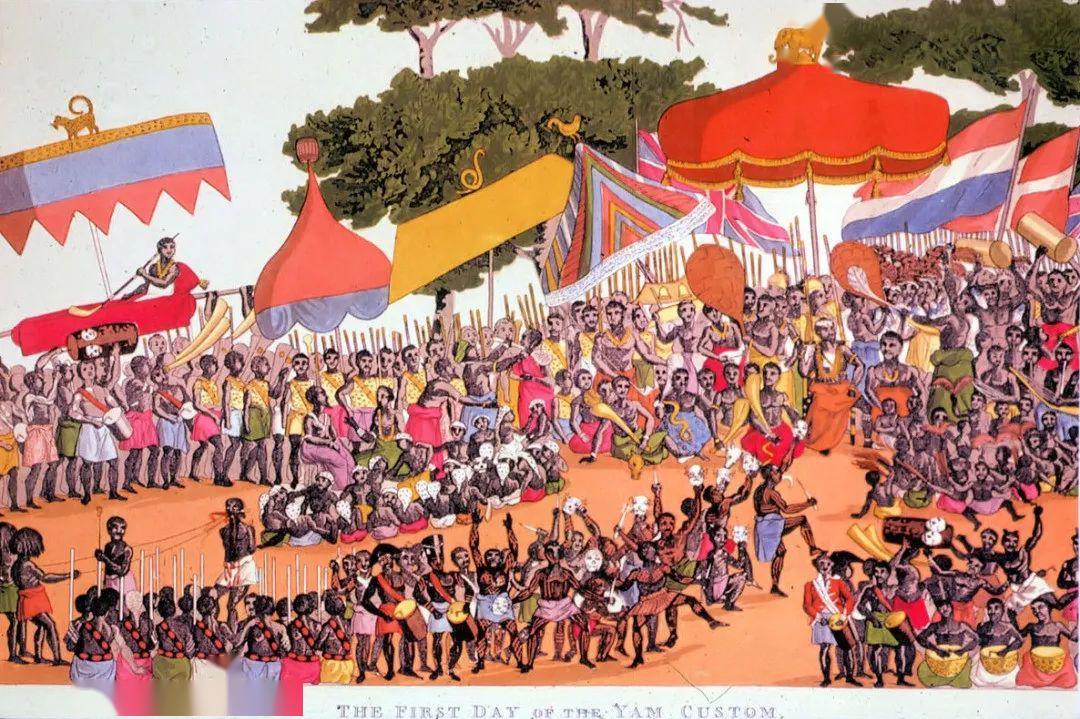 画作《Ashanti Yam Festival》