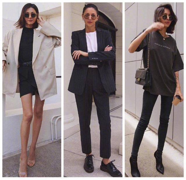 极简也可以很时尚!看看澳洲时尚博主的穿搭,干练气质又很性感