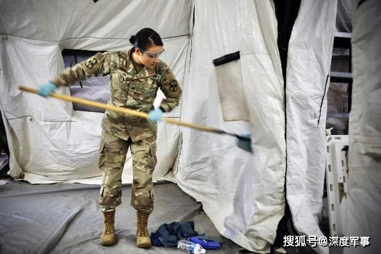 美军喜大普奔,中国口罩到货了:美军医院船116名军医已经逃离