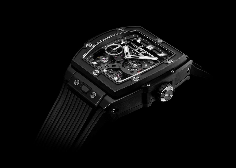 张翰夏季时尚搭配  黑色腕表如此具有魅力!