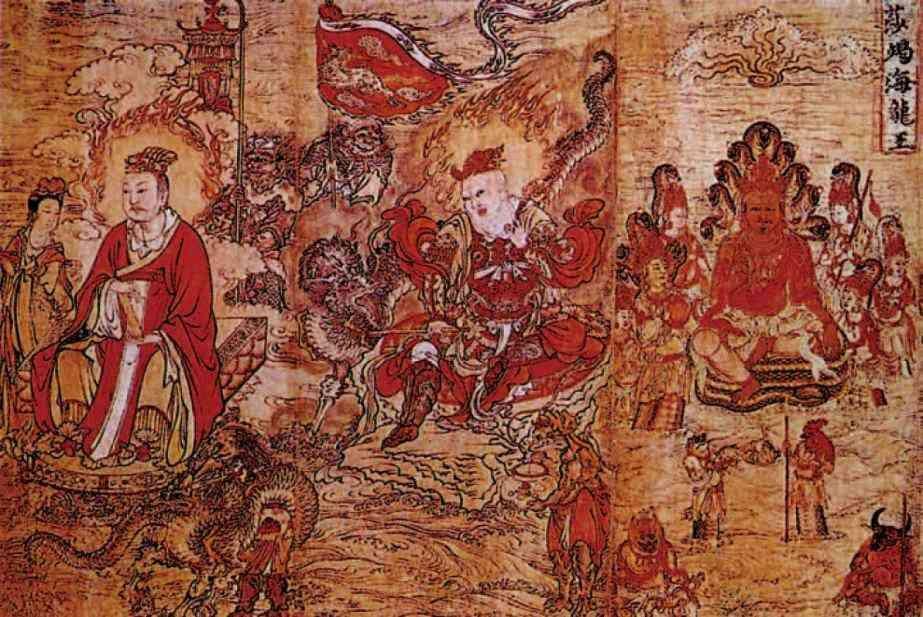 佛教中四位护法天神是谁 后来被称之为 四大天王