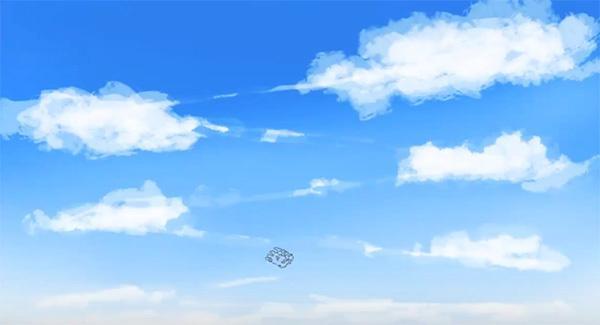 超级简单的云彩画法!你见过这么简单的插画天空画法吗