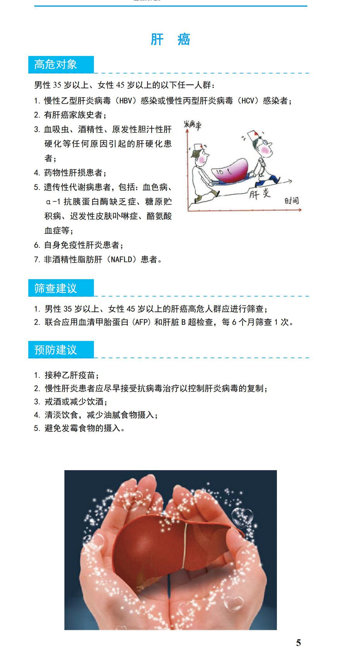 肿瘤防治宣传周 | 中国人一生患癌风险达30%!20种恶性肿瘤预防筛查的建议来了