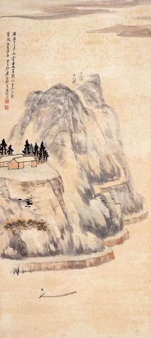 如何画出一幅经典的浅绛山水画