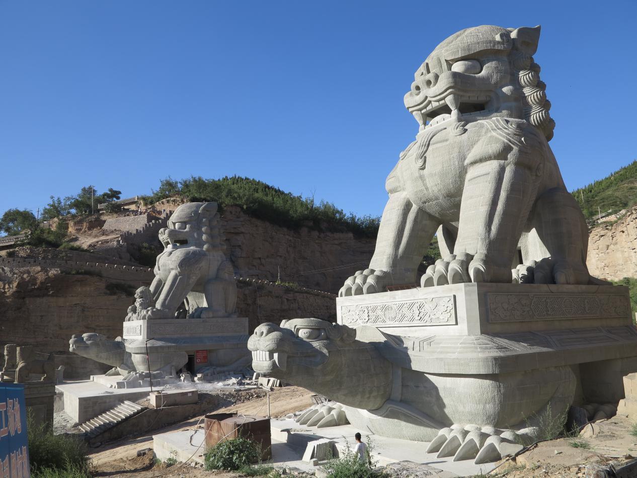 石狮市有多少人口_陕西绥德建天下第一石狮 狮子口能容10多人