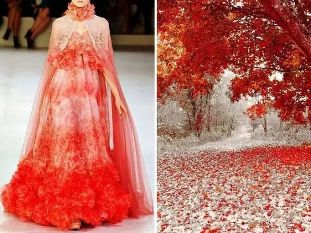 当大师的名画被设计成了一袭长裙,美的一塌糊涂