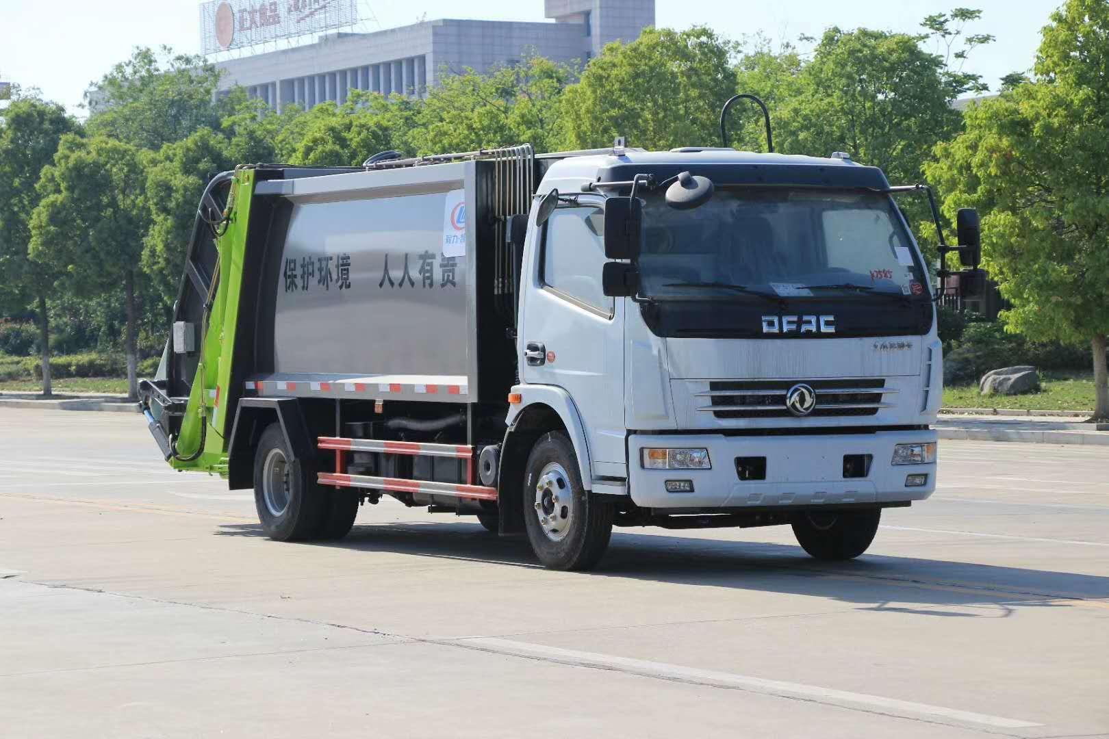 南京64个小区、101个单位先行先试垃圾分类 5吨10吨垃圾清运车介绍图片