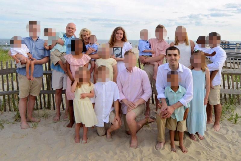美国女子感染新冠无症状,养育18个孩子17人不知不觉中招