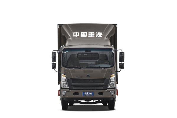 陕西益伟达中国重型卡车豪沃司令148马力4.15米单排轻型卡车