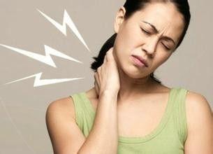 一位女士的颈椎病症状