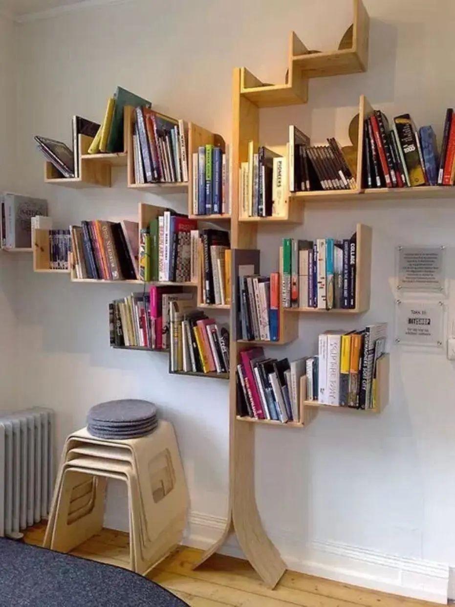 创意木质书架设计图
