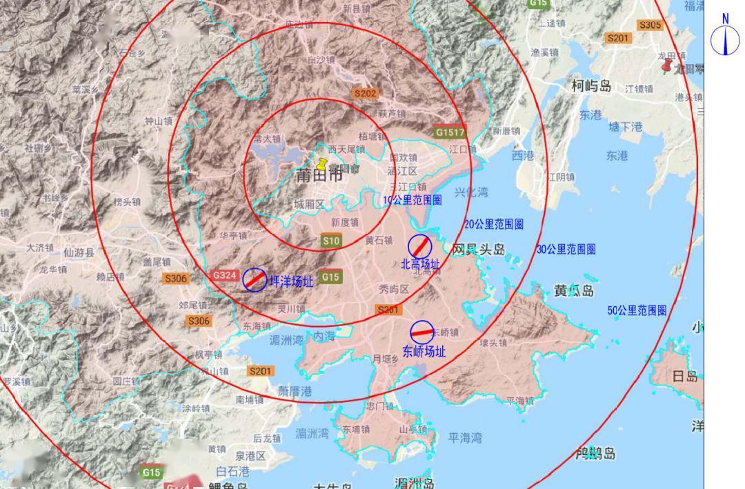 莆田秀屿区规划图