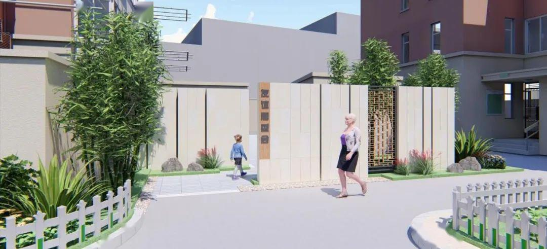 长宁这个居民区将打造一个古风式的 公共客厅