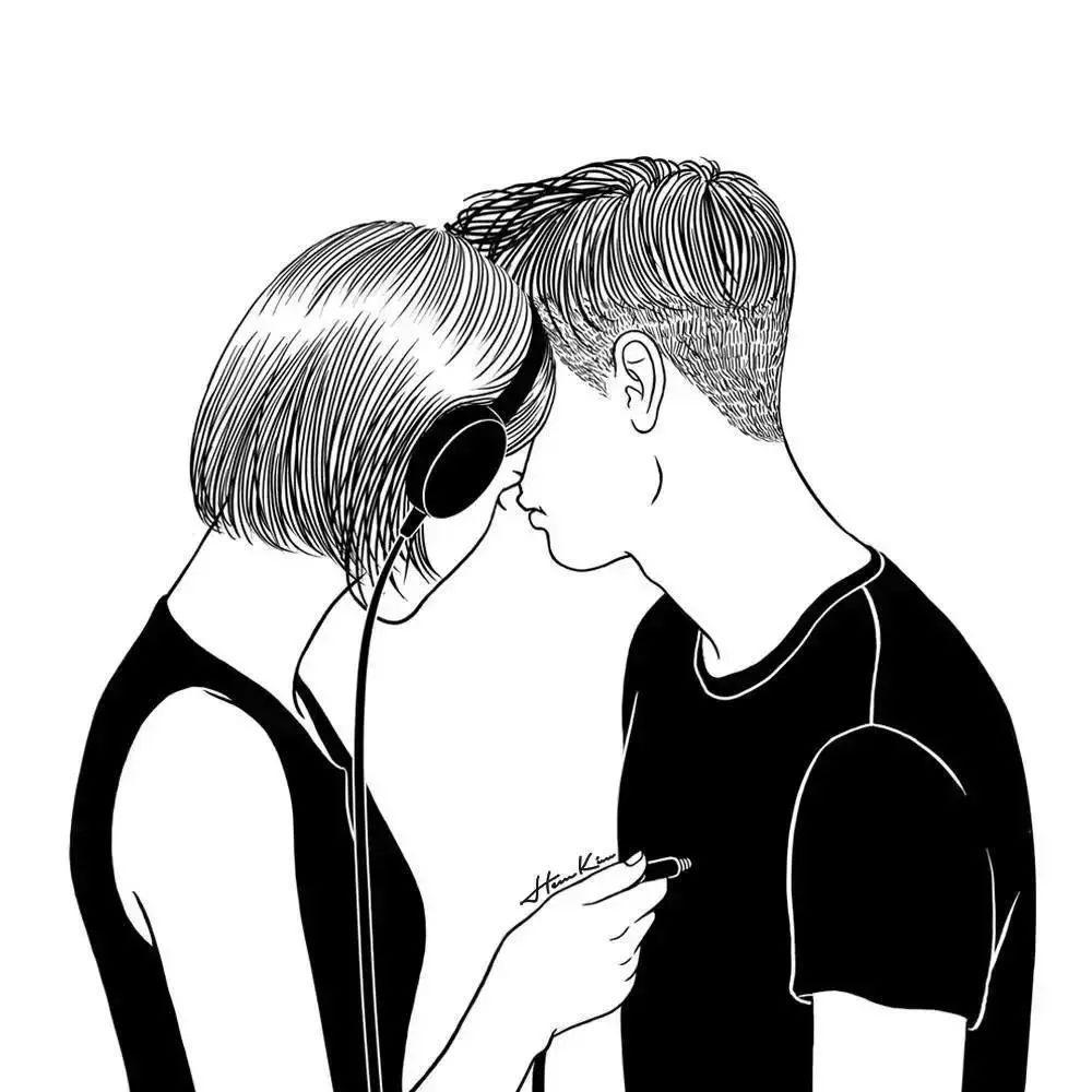 高清伤感的黑白动漫头像男特别丧图片_男生头像_美头网