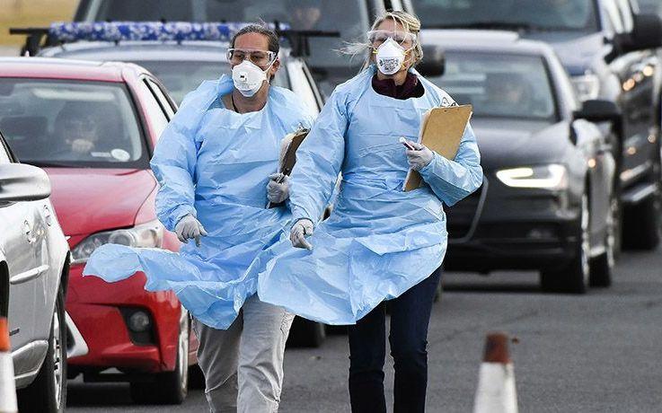美国研究机构街头随机测试新冠病毒,三分之一路人都是阳性