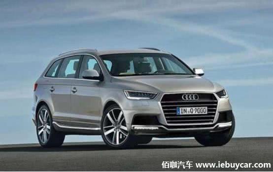 锁定宝马X7/奔驰GLS级新旗舰SUV-奥迪Q9预计将于2022年底正式推出
