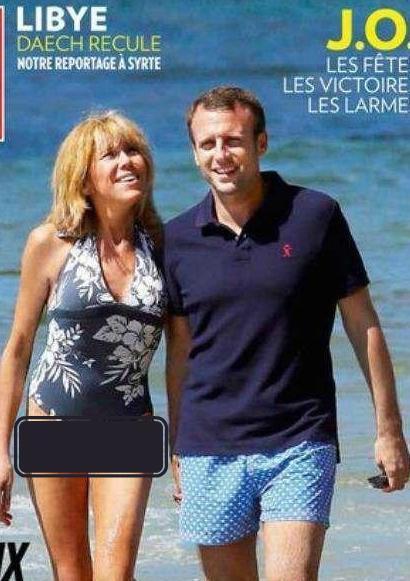 原创法国第一夫人穿印花泳衣秀纤细美腿,一年花200万,造型美衣换不停