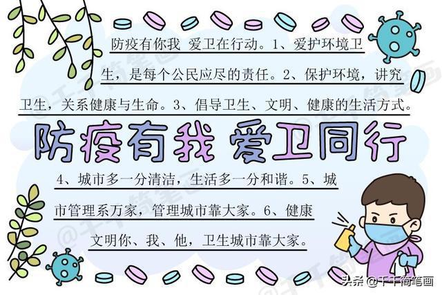 小学语文,数学,环保,安全,世界地球日,读书日,爱国卫生月等主题手抄报