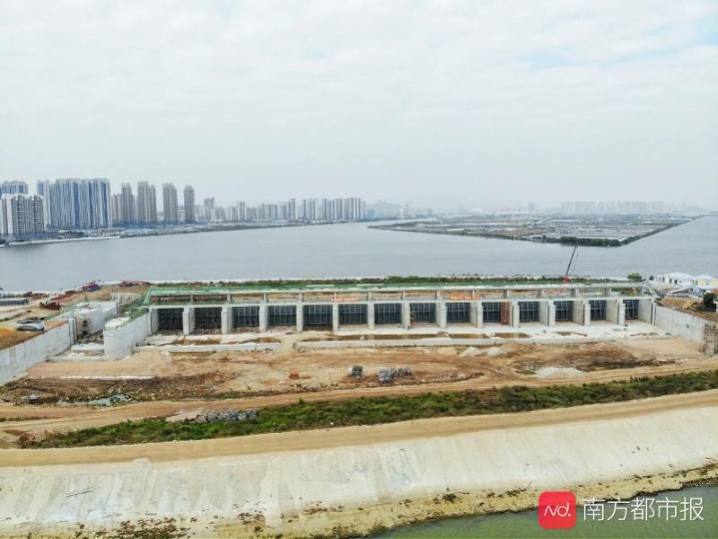 珠海市人口_百年一遇防洪标准!珠海唯一大型水闸要完工,保护人口约10万人