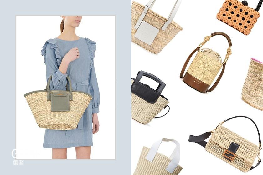 春夏穿搭少不了优雅的编织手袋,为你介绍这些值得入手款式!