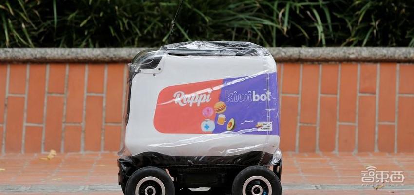 创企用机器人送外卖,15个机器人每天可送近120次