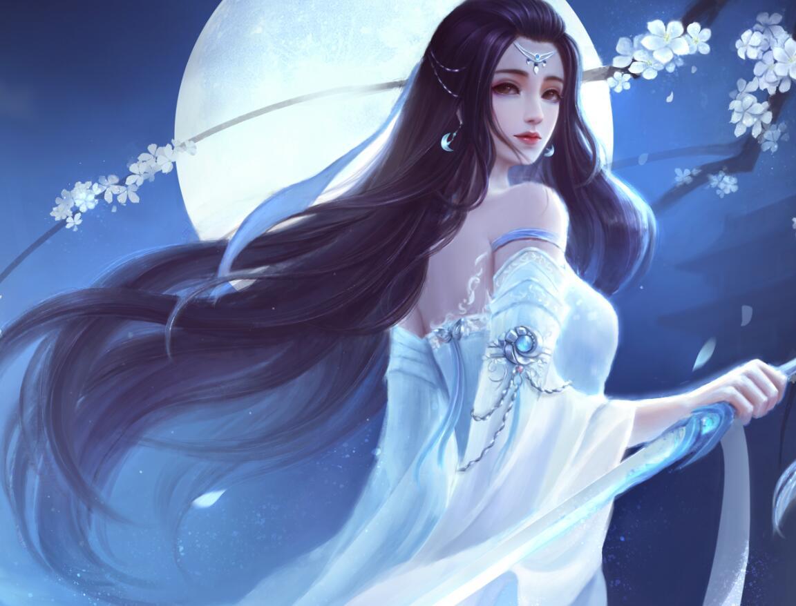 梦幻新诛仙冰山美人登场,经典白衣让人怀念,少女气质好评!