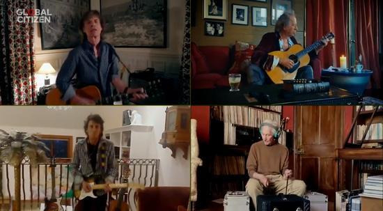 """滚石乐队隔空相聚引来一波回忆杀,细看老爷子们的""""家""""也很吸睛"""