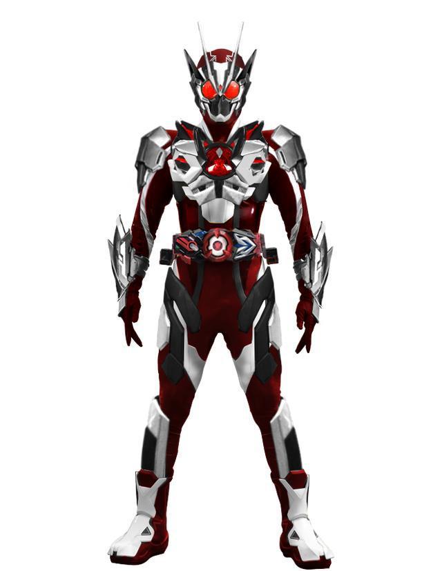 假面骑士01 粉丝自制最终BOSS假面骑士亚克 染色版01意外带感
