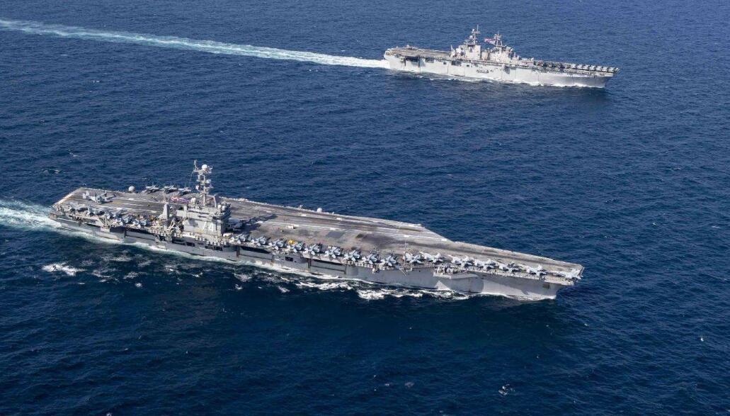 太平洋已无美航母,派出大批轰炸机亮相,外界怀疑美军有大动作