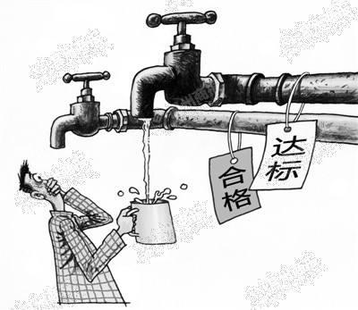 自来水里流出红线虫,清洗自来水管道最管用!