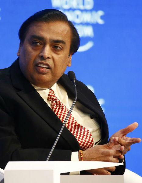 印度首富安巴尼超越马云重回亚洲首富位置