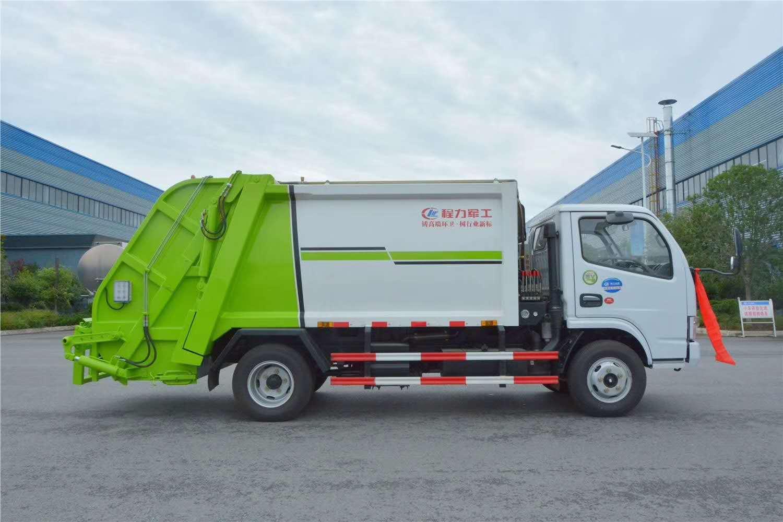 垃圾不落地,城市更美丽,城市压缩垃圾车效率高,环保事业蒸蒸日上图片