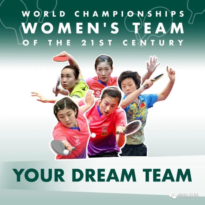 21世纪乒乓球梦之队阵容,10把交椅国乒占7席!