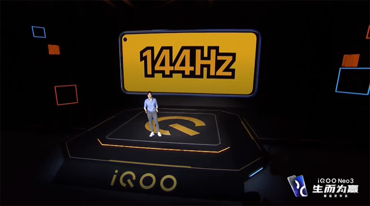 iQOO Neo3正式发布:144Hz高刷新率+骁龙865 起售价2698元