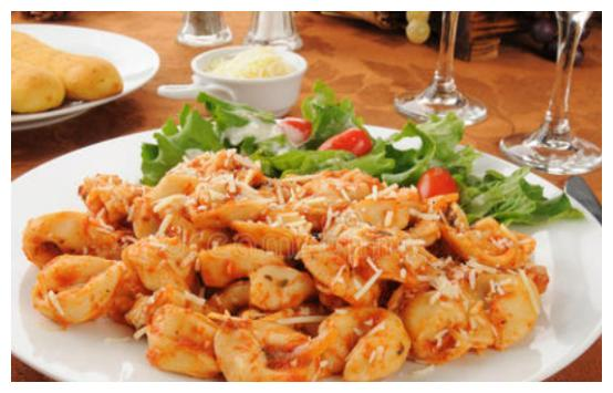 意粉沙拉,清爽解腻,健康低脂,懒人的减肥好食谱